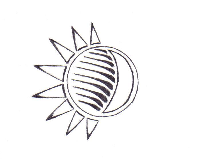 eclipse tattoo art by eckert82 on deviantart. Black Bedroom Furniture Sets. Home Design Ideas
