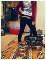 boombox by jenny-fur-tography