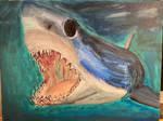 Mako Shark - Painting