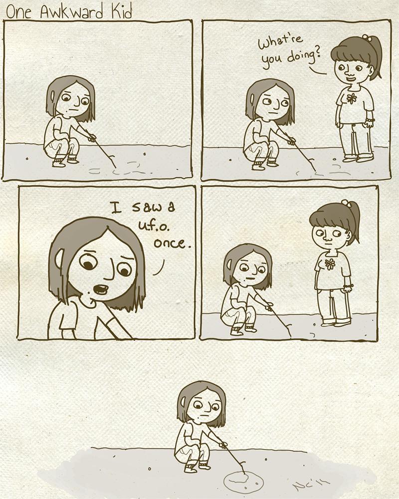 One Awkward Kid by Marzipanapple