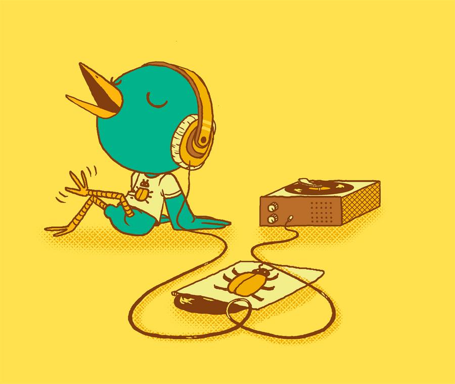 Rockin' Robin - vote? by Marzipanapple