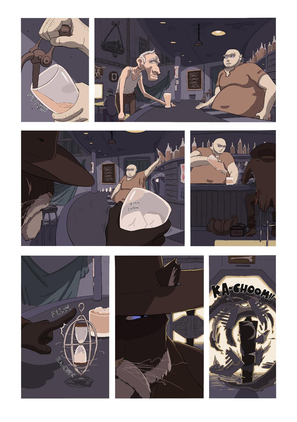 Stranger Page 1 by Zoph42