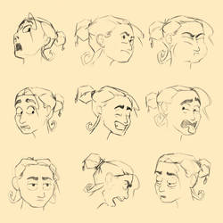 Character Design P2 - Expressions by Zoph42
