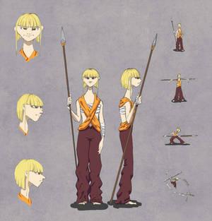Valravern Character Design: Heriett