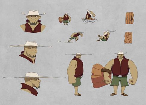 Valravern Character Design: Turek