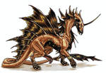 Bronze-Scaled Dragon