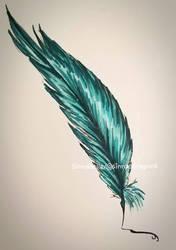 Marker Test [Feather] by Sinnabelle