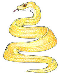 Marker Practice [Snake] by Sinnabelle