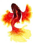 Flamenco Fish by Sinnabelle