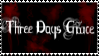 3 Days Grace Stamp by Freeze-ice-fox
