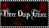 3  Days Grace Stamp by Freeze-ice-fox