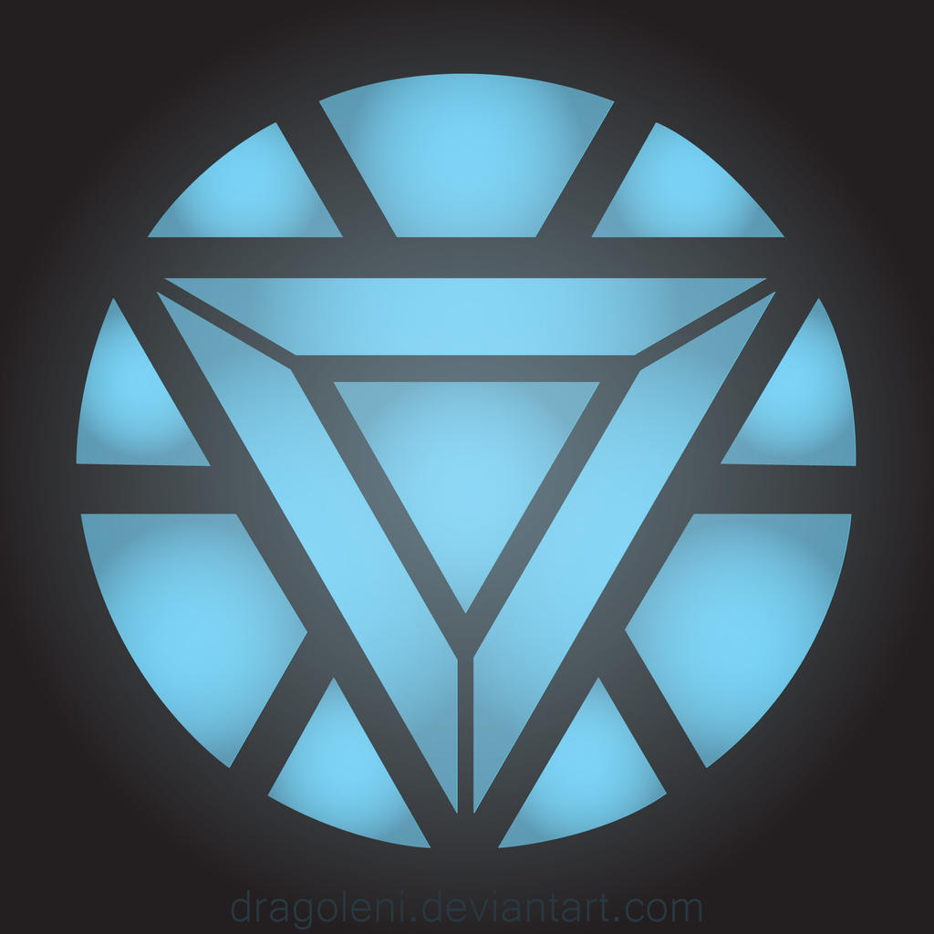 Tony Stark's Arc Reactor by Dragoleni on DeviantArt Iron Man 3 Arc Reactor Logo