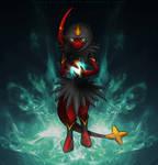 Egyptian Pokemon Fusion by Dragoleni
