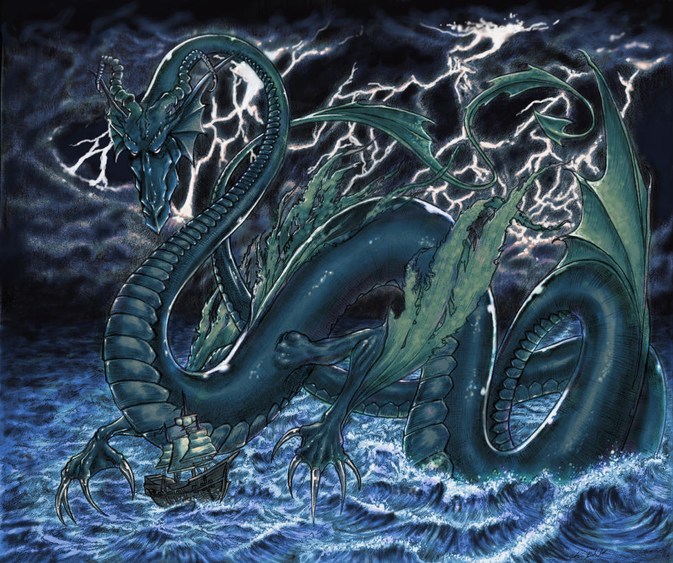 Official Earthland Map The_sea_serpent_by_iangoudelock-d4bk85j