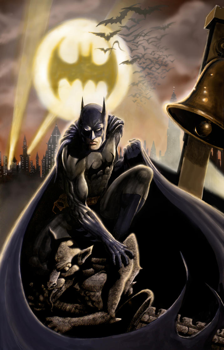 Batman - The Dark Knight by iangoudelock