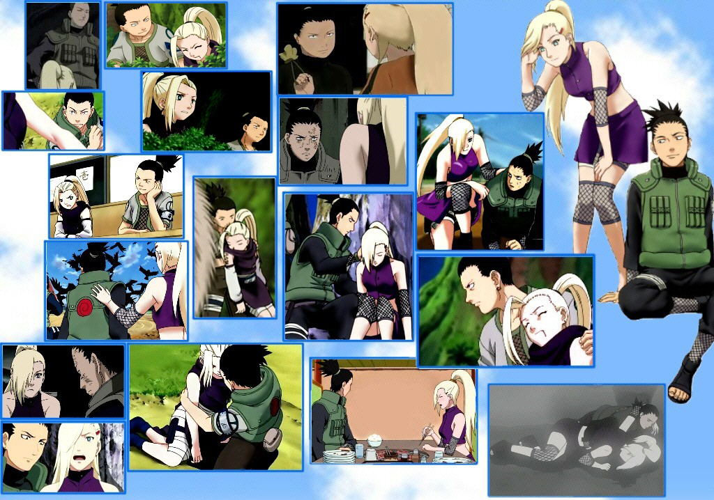 Some ShikaIno Moments by KumoGirl on DeviantArt