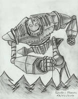 The Iron Giant by EXIronRob