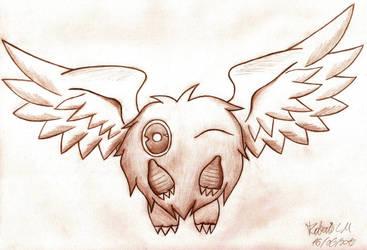 Winged Kuriboh by EXIronRob