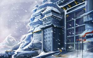 Mountain Gate by Francoyovich