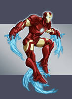 Oh yeah! Iron Man by Francoyovich