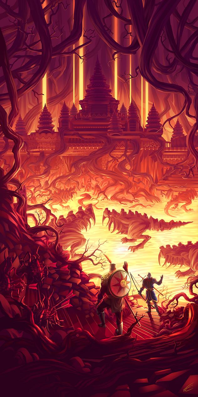 Lost Izalith by Francoyovich