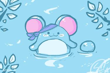 aqua mouse by SteveKdA