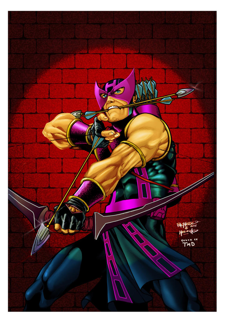 Hawkeye Carlos Pacheco by DONAHUE-t