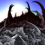 Graveyard of Death Machines by M2e-Fx