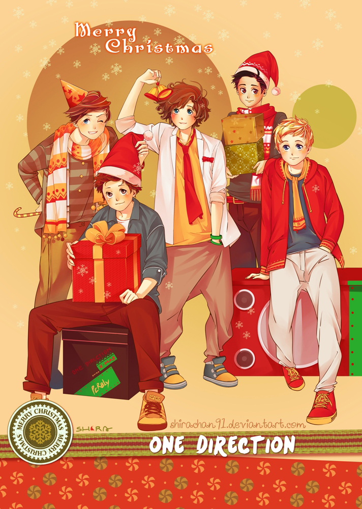 One Direction X-mas 2012 by shirachan91