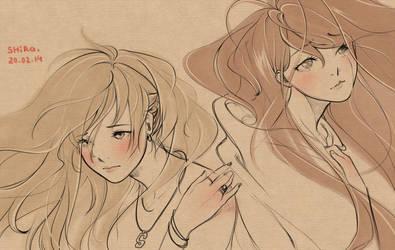 girls by shirachan91