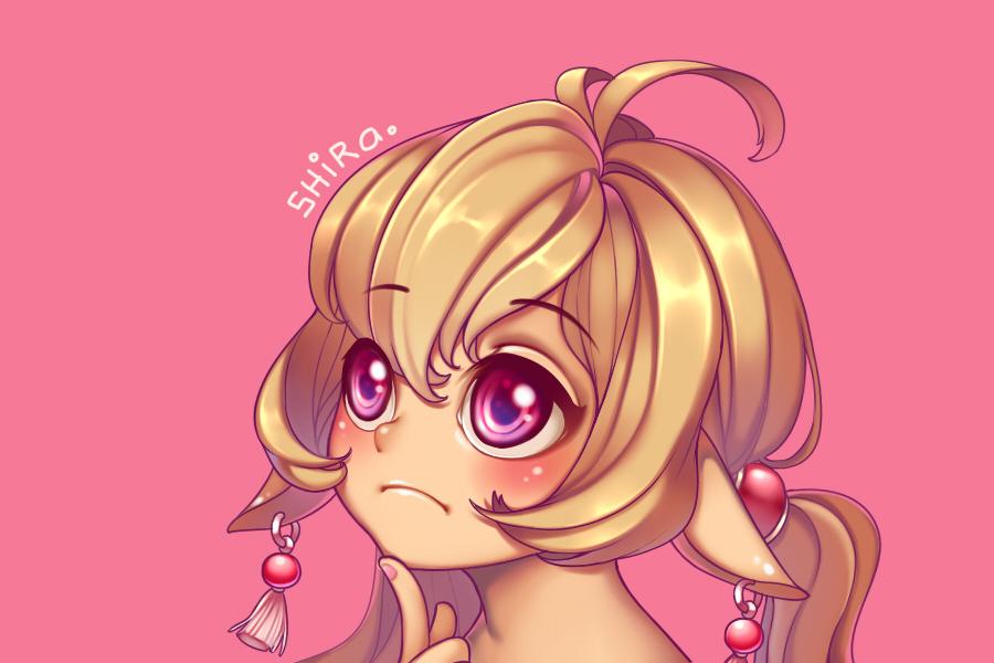Pink Girl by shirachan91
