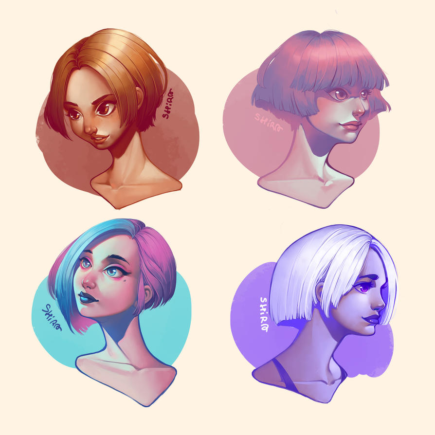color girls by shirachan91