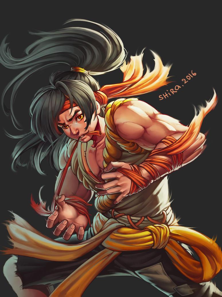 Nguy Lieu Long muscle boy by shirachan91