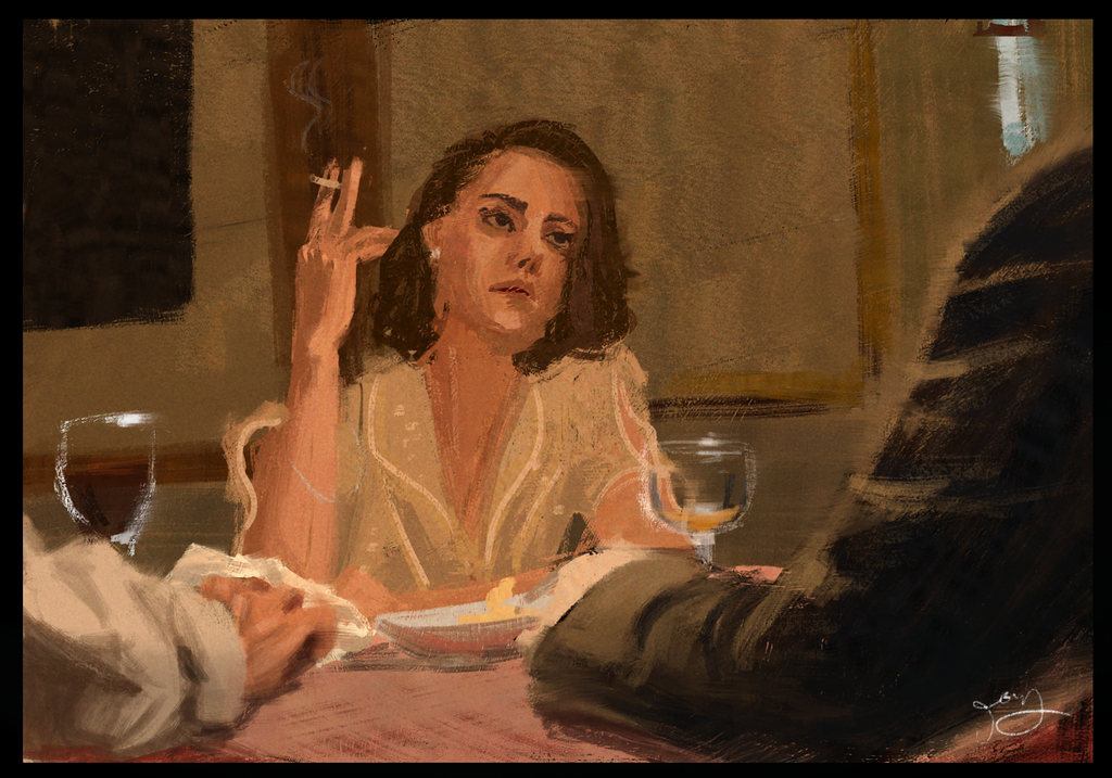 Movie Still Study by Chillpipe