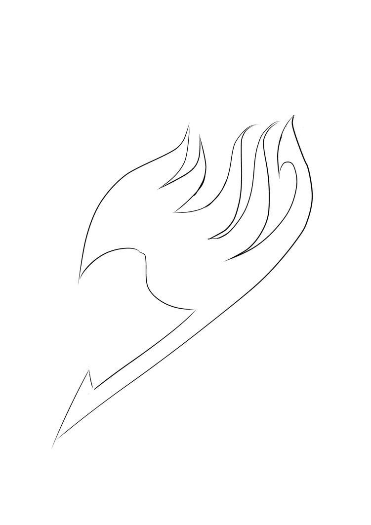 Fairy Tail Guild Symbol Outline