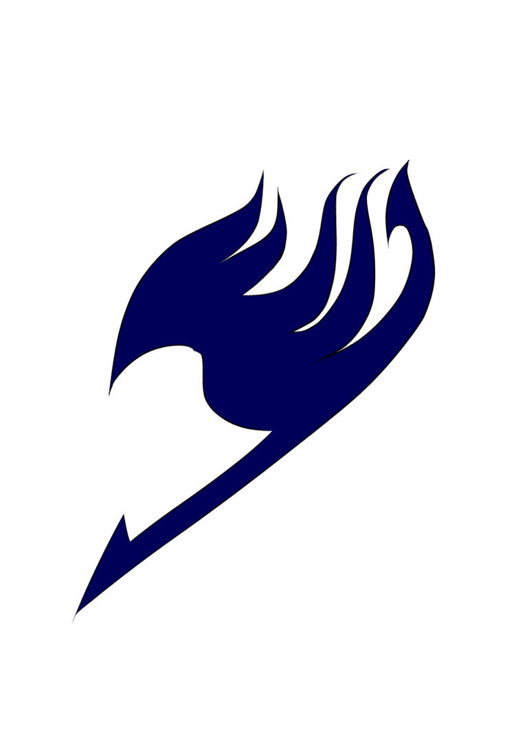 fairy tail logo blue pictures to pin on pinterest pinsdaddy