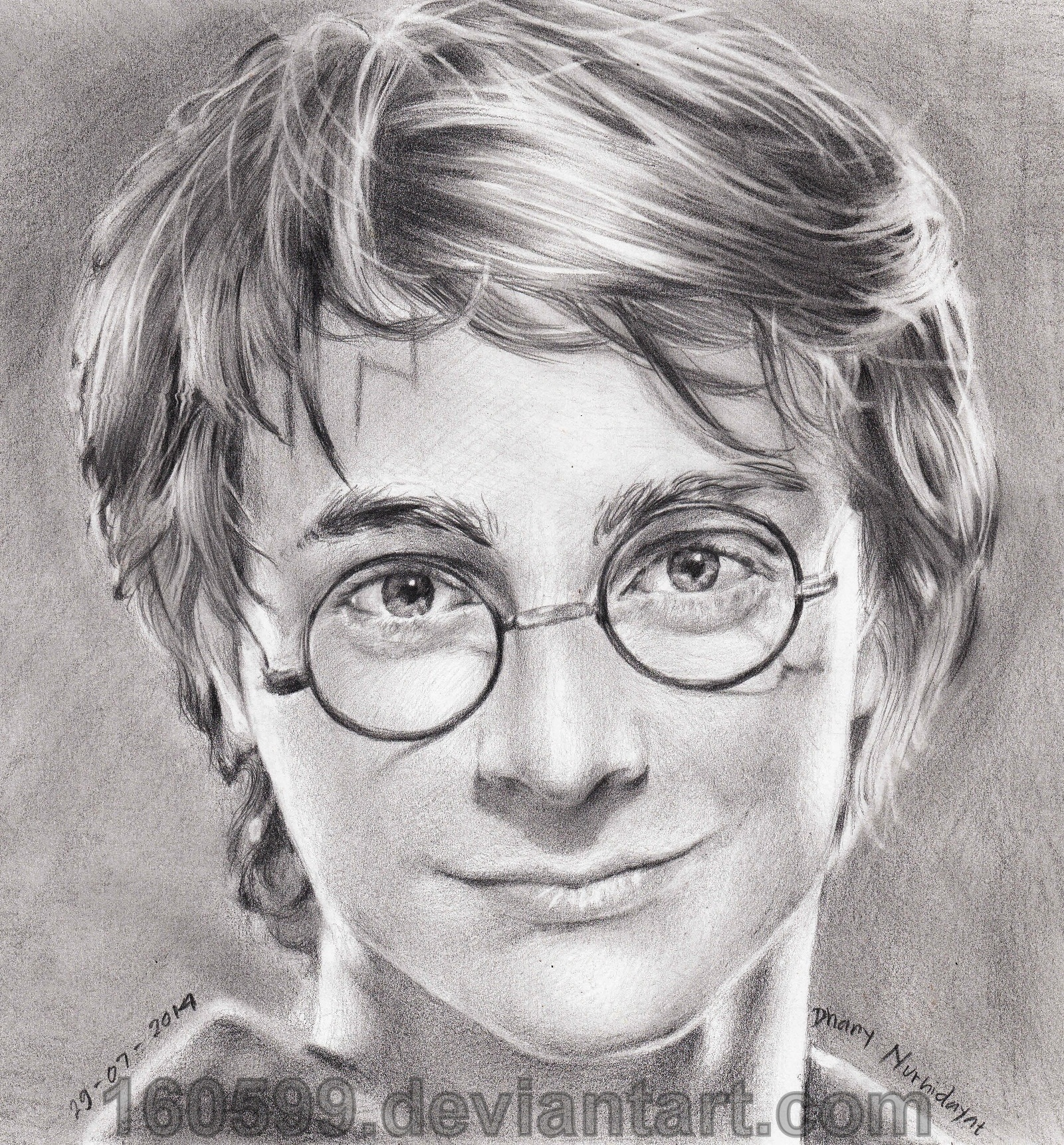 Harry Potter Drawing By 160599 On DeviantArt