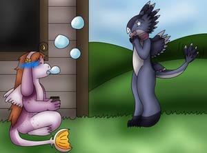 Magic Class: Blow Bubbles
