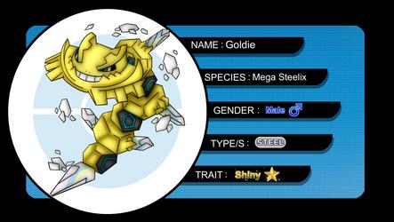 [SL] Goldie the Mega Steelix