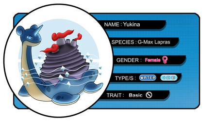 [SL] Yukina the G-Max Lapras