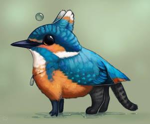 Inktober - 16. Wet by nybird