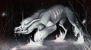 Inktober - 27. Creepy