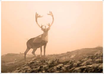 Polygone deer by Remulous1