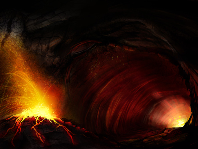 Magma Cave by RagingAngel