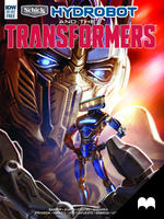 Schick Hydrobot and the Transformers - Motion Book