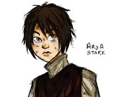 arya stark by beagleamarelo