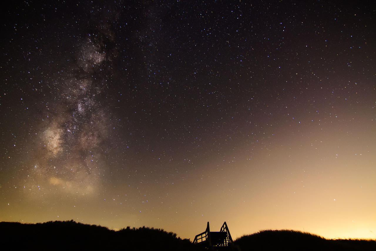 Milky Way via A1A by 904PhotoPhactory