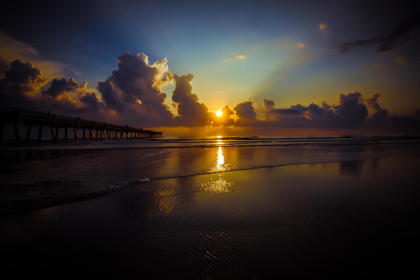 Jax. Beach Sunrise by 904PhotoPhactory