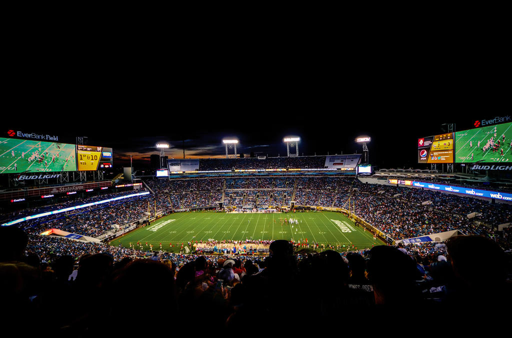 EverBank Field Home of the Jaguars by 904PhotoPhactory