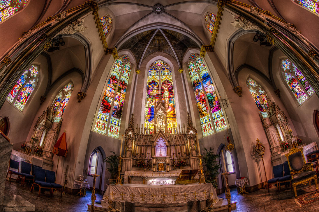 Basilica of the Immaculate Conception by DGPhotographyjax
